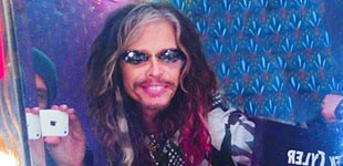 STEVEN TYLER, DO AEROSMITH, EM TURNÊ COM CHILLI BEANS